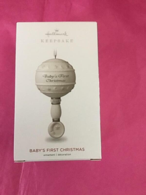Hallmark Keepsake Ornament 2018 Baby