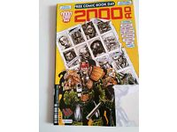 Judge dredd 2000ad comic