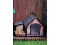3 piece Dog Kennel and dog carrier