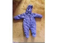 Name it Pram suit 6-9-12 months. kind of waterproof