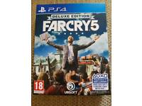 Farcry 5 Deluxe edition with Season Pass Ps4