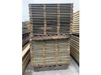 Heavy duty vertical board fence panels …pressure treated..pick up Wa160ex..
