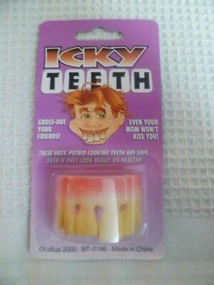 Novelty Gag Gifts ~ Party Pranks Jokester ~ Icky Teeth ~ Fun Joke - Bt Halloween Party