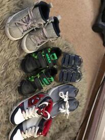Boys size 11 Adidas trainers