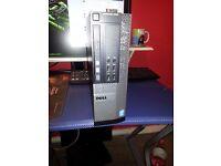 Dell SFF desktop pc- i3 cpu,8gb ddr3,120gb SSD ,windows 10