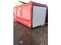 ROYAL MAIL LORRY BODY FOR STORAGE FOR SALE