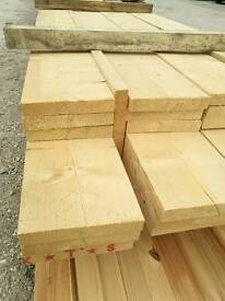 10 x 1 1/2 Rough Sawn Timber (250mm x 40mm) - Various Lengths