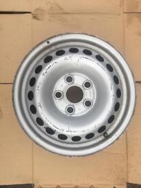 """Vw T5 16"""" steel wheel 7h0601027c"""