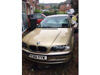Gold BMW 318i Auto (Breaking)