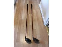 Golf clubs - pair of King Cobra drivers