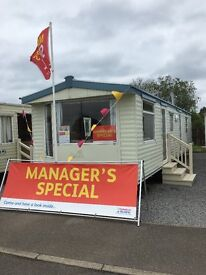 Caravan for sale at Withernsea Sands Holiday Park on the east coast of Yorkshire right by the sea