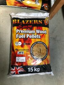 Wood Pellets for Flame Genie