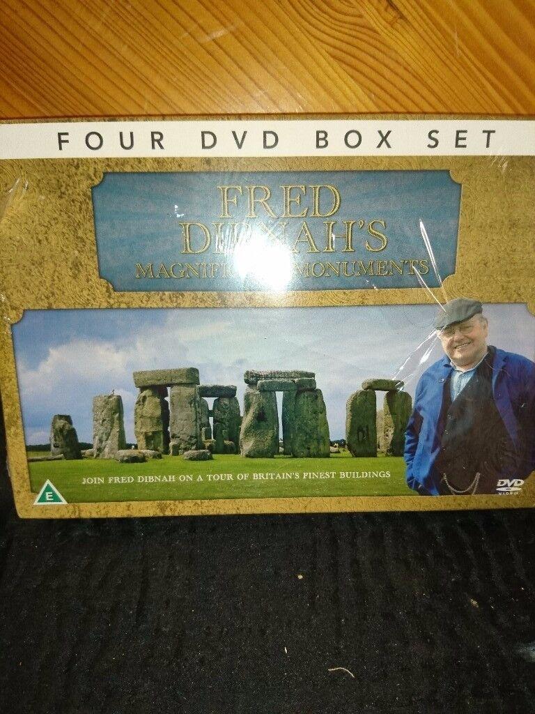2xFred Dibnah DVD's