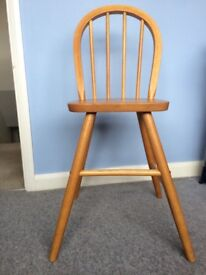 Wooden ikea child's chair