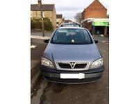 Vauxhall Zafira 1.6L (7 Seater)