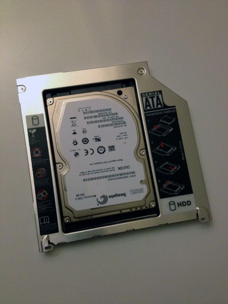 MacBook Pro 13 Early 2011 Dual Hard Drive Kit Seagate Momentus 7200 500GB