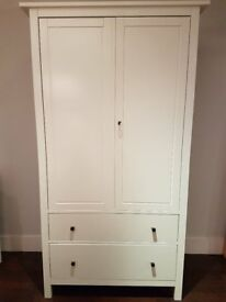 Retro Ikea Wardrobe with hanging, shelf and drawer space