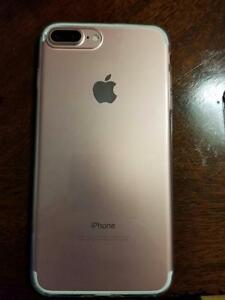 Rose Gold Iphone 7 Plus 128 GB Rogers/Chat-R Extras