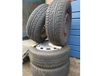 "Wheels 4 winter tyres 15""  vw audi skoda"