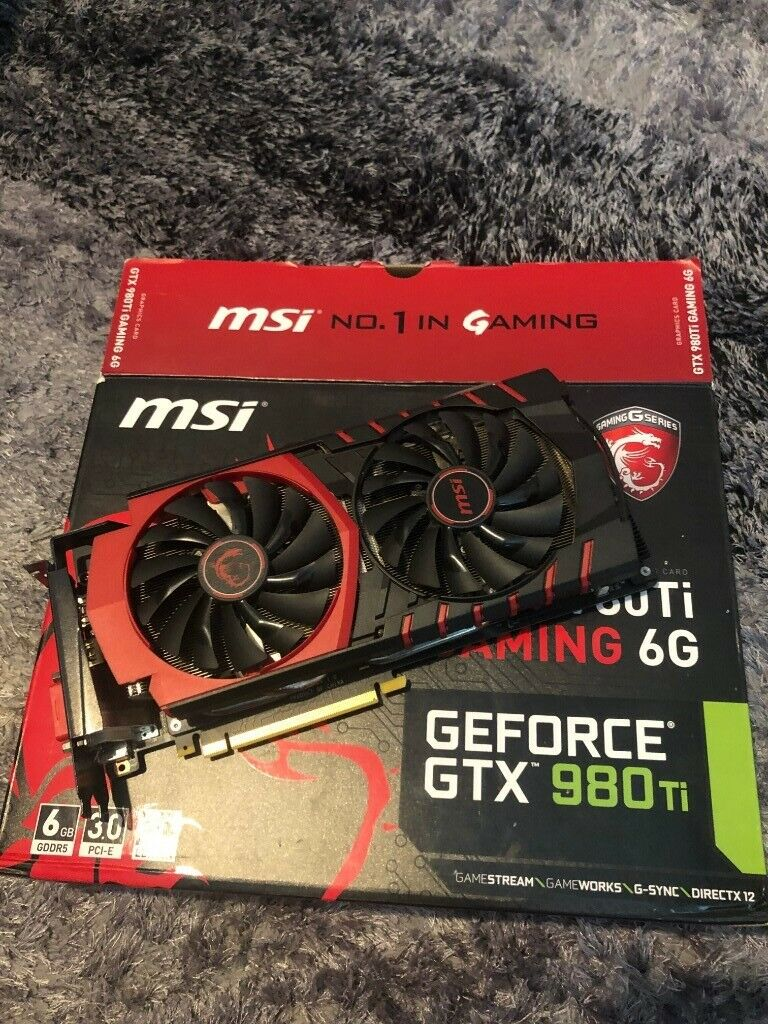 NVIDIA GEFORCE 980 TI - MSI Gaming 6G | in Stockport, Manchester | Gumtree