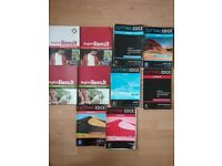 Selection of 40 English Language (ESOL, CELTA) books - various levels, elementary to advanced