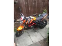 KSR GRS 125 for sale or swap