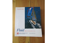 Engineering Uni Text Book - Fluid Mechanics: Forth Edition by Frank M White - Good Condition