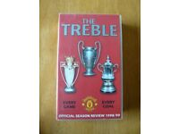 Manchester United - The Treble 1998/99 Official Season Review - VHS video