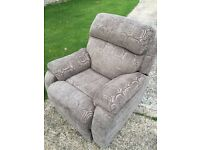 **AS NEW** DFS ELECTRIC RECLINING ARMCHAIR Very Comfortable, Perfect condition & Easy to Transport