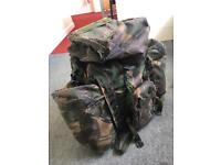 OPEN TO OFFERS,Genuine Army Bergen, rucksack,backpack