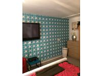 Short let double room available now close to city centre £195 per week