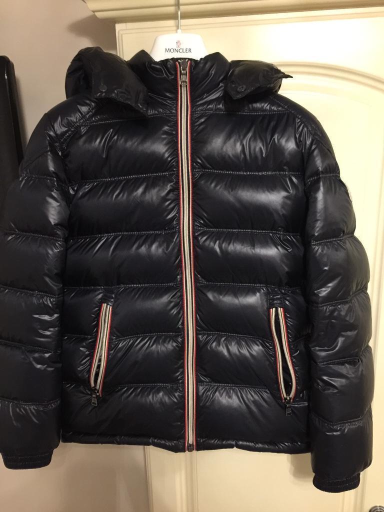 Boys age 12 Genuine Moncler Jacket