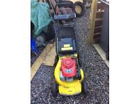 Garden Master self propelled petrol lawn mower (Honda 5.5hp)