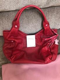 RADLEY Big Red bag never been used!