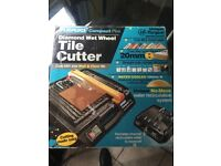 Diamond wet wheel tile cutter