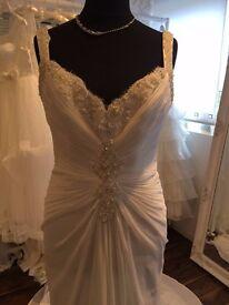 enzoani designer wedding dress size 16