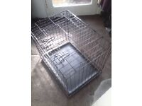 DOG Cage's x 2 small and medium.