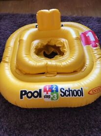 Pool School Inflatable Baby Float
