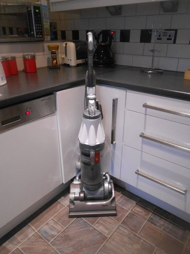 Dyson Hoover Dc07 All Floor Hoover With Tools White And