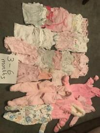 Girls bundle 3-6 months
