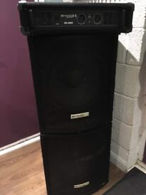Sub Woofers And Amp For Sale