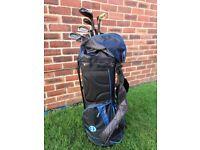 Golf clubs / bag / accessories