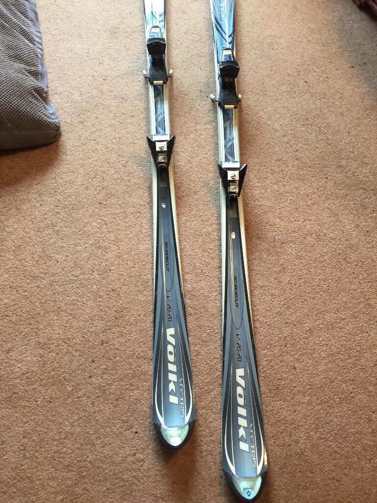 Carver Skis, Bindings, Poles