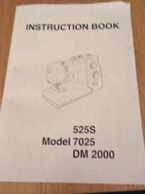 Janome 7025 Sewing Machine brand new