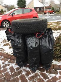 Winter Tyres x 4.