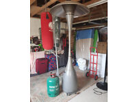 Modern Design Garden Gas Patio Heater to include large gas cannister.