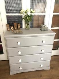 """""""Grey Paris"""" chest Free Delivery Ldn shabby chic"""