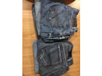 Mens Jeans W 32 to 34 L30