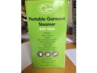 New and unused Portable Garment Steamer