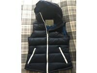 Jack Wills ladies gilet body warmer